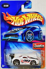 HOT WHEELS 2004 FIRST EDITIONS TOONED TOYOTA MR2 #038  WHITE