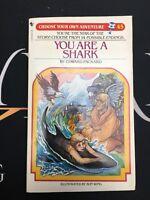 You Are a Shark - RARE VTG Bantam PB Book CHOOSE YOUR OWN ADVENTURE #45