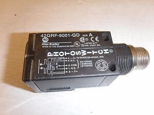 ALLEN BRADLEY 42GRF-9001-QD 5-PINS STANDARD FIBER OPTIC PHOTOSWITCH