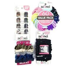 Scunci Scrunchies No Damage Elastics Clips 87 Piece Bundle Hair Ties NEW