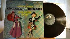 Lerner & Lowe's Gigi & Brigadoon LSP 2275 rare 1st pressing