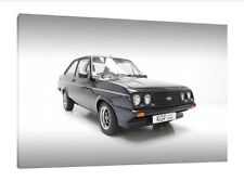 Ford Escort RS MK2 - 30x20 Inch Canvas Art - Framed Picture Poster Print