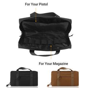Tactical Military Hunting Airsoft Shooting Pistol Gun Bag Handgun Magazine Bags