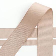 Grosgrain Ribbon 16mm Width - Choose Your Shade - per Metre Taupe