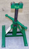 "GREENLEE SCREW-TYPE REEL STAND 687, CAP 2500LB, HEIGHT: 13""-28"""