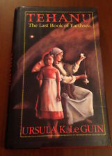 SIGNED 1st/1st Ursula K Le Guin TEHANU LAST BOOK OF EARTHSEA 1990 NEBULA WINNER!