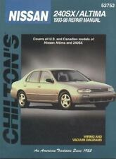 Total Car Care Repair Manuals: Nissian 240SX and Altima, 1993-98 by Chilton Aut…
