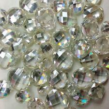 J-K Color Loose Moissanite Diamond 4 Ring Cushion Rose Cut 2.97 Ct 9.16 mm/Vvs1