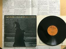 Neil Young After The Gold Rush Inner Sleeve + Poster Reprise Rs 6383 Nm Lp