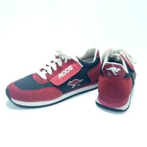 Women's KangaROOS Athletic Sneakers Shoes -Sz 9- Red with Black & White Accents