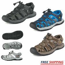 Mens Athletic Sandals Adventure Hiking Climbing Summer Beach Sandals Size 6.5-15