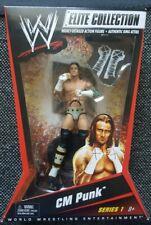 WWE Elite 1 CM PUNK Figur/neu/mattel/wwf/wrestling/wcw/tna/raw