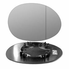 Right side mirror glass for Mini One Cooper Hatchback 2014-On wide angle heated