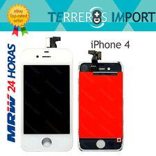 Frontal Completo Pantalla LCD iPhone 4 4G Retina Display Blanco Blanca