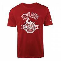 UFC 20th Anniversary Collection Generation T-Shirt -Red- Men's Sz S/M/XL/2XL NWT