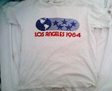1984 LOS ANGELES Olympic Games VINTAGE AUTHENTIC SHIRT SPORT MEMORABILIA