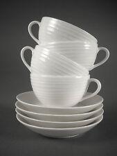 4 DESIGN HOUSE Stockholm BLOND Stripes CUP & SAUCER SETs Tea Coffee Mint!