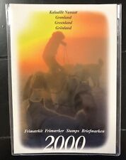 Greenland 2000. Official year set. In folder. Mnh.