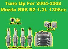 TuneUp 04-07 Mazda RX8: Spark Plug, Oil Filter, OIl Drain Plug