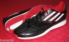 ADIDAS PRO SMOOTH LO LOW TOP BASKETBALL SHOES 13.5 BLACK RED WHITE G99357 NWOB