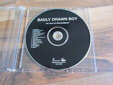 BADLY DRAWN BOY The Hour Of Bewilderbeast EUROPEAN promo CD album