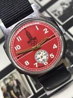 Soviet Men's Soviet Pobeda Zim Moskva-80 Vintage Mechanical Russian Wrist Watch