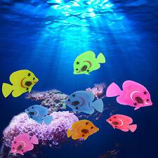 10x Aquarium Fish Tank Artificial Plastic Fake Floating Fish Pet Decor Ornaments