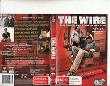 The Wire-2002/8-TV Series USA-[The Complete Fourth Season:5 Disc Set]-DVD