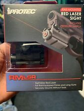 iProtec Rail-Mounted Firearm Light/Red Laser Rm190Lsr - Brand New Ships Today