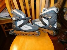 High End K2 Women's Eco Bamboo size 10 Roller Blades Inline Skates Fast Comfy