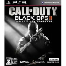 Used PS3 Call of Duty Black ops 2 dubbed in Japanese Japan Import