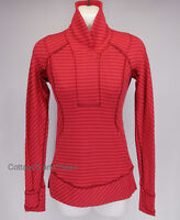 NEW LULULEMON Think Fast Pullover Top 2 4 Boom Juice Deepest Cranberry FREE SHIP