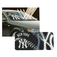 New MLB New York Yankees Car Truck Windshield Folding SunShade Large Size