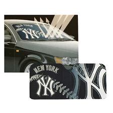 New MLB New York Yankees Car Truck Windshield Folding SunShade Large Size