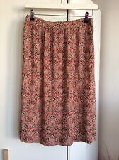 Fat Face Floral Print Skirt  Size 14 Knee Length
