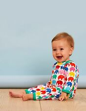 SS20 Toby Tiger Multi Elly Sleepsuit Organic Cotton Rompersuit Babygrow