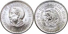 1957 Mexico Silver 10 Pesos 100th Anniversary of Constitution KM# 475 UNC