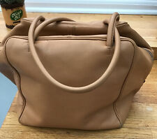 Bally Leather Bag In Tan Leather