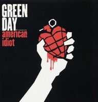 GREEN DAY-AMERICAN IDIOT 2 VINYL LP ROCK 13 TRACKS NEW!