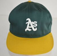 Oakland Athletics As Annco MLB VTG 90s Throwback Adjustable Snapback Hat Cap