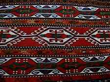 1900 ARMENIAN ANTIQUE  SUMAK  MAFRASH  EXCEPTIONAL PIECE, ALL ORIGENAL AMAZING