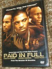 Paid in Full (DVD, 2003), NEW & SEALED, REGION 1, WIDESCREEN, MEKHI PHIFER