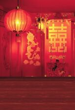 Chinese Style Backdrop Wedding Studio 5x7ft Background Vinyl Photo Props Scene