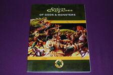 CASTLES & CRUSADES RPG JDR Jeu de Role - Of Gods & Monsters