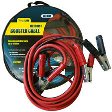 Professional Heavy Duty 900amp 6 Metres Long Jump Leads Booster Cables Car Van