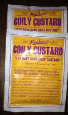 Two (2)  Miss Jessie's Coily Custard.. 1 oz Travel Packs.. New.. Free Shipping