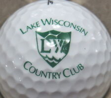 (1) Lake Wisconsin Country Club Golf Course Logo Golf Ball