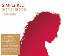 SIMPLY RED Song Book 1985-2010 4CD NEW Compilation Fatpack Slipcase Songbook