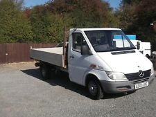 MERCEDES SPRINTER 308 CDI MWB  PICKUP TIPPER 2003 03 REG ONE OWNER