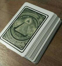 illuminati NWO playing cards
